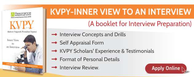 e-Booklet of KVPY Interview