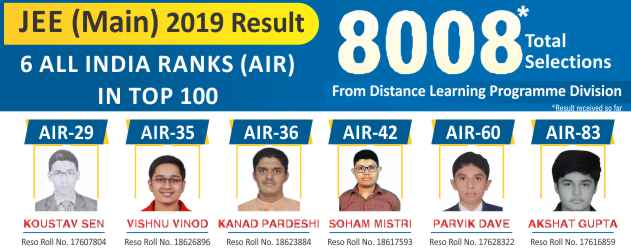 JEE (Main) 2019 Top 100 AIR Club