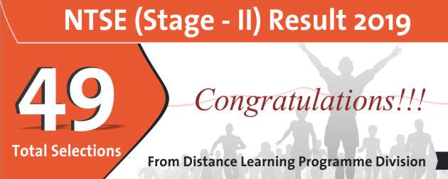 NTSE Stage-2 2019 Result