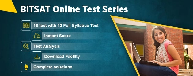 BITSAT Online Test Series