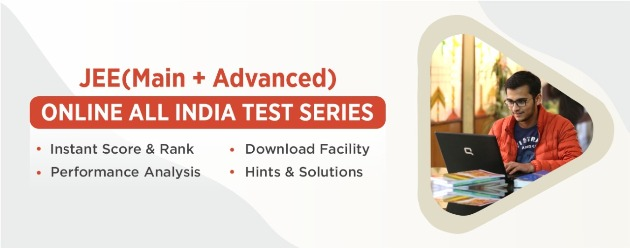JEE(M+A) Online All India Test Series.